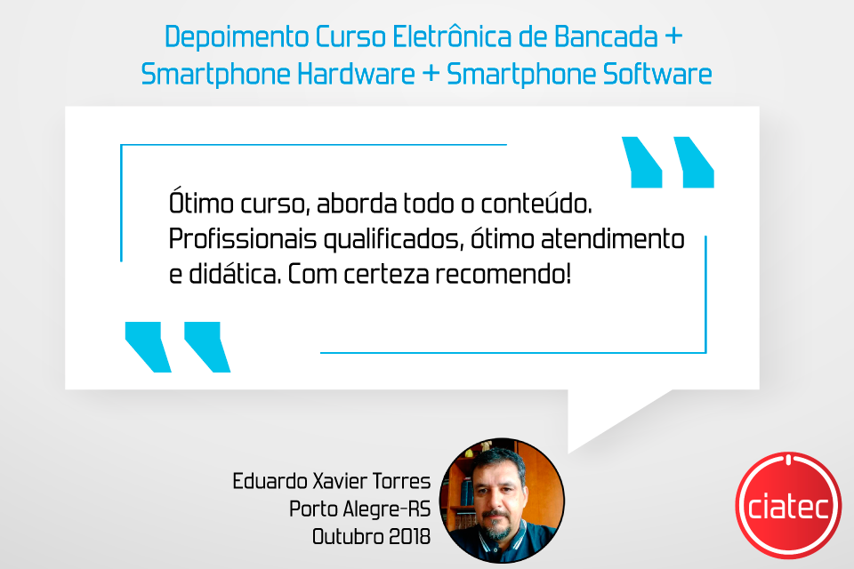 Depoimento-aluno-Eduardo-eletrônica de bancada- smartphone software e hardware