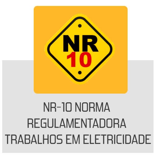 icone- NR-10- Norma Regulamentadora Trabalhos em Eletricidade